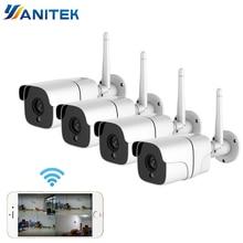 무선 보안 카메라 시스템 1080 p ip 카메라 와이파이 sd 카드 야외 4ch 오디오 cctv 시스템 비디오 감시 키트 camara