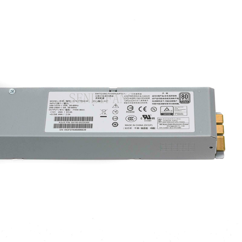 For Delta Electronics DPS-770GB C Server - Power Supply 770W Free Shipping