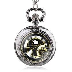 Новые поступления Античная Доктор Кто карманные часы Цепочки и ожерелья Для мужчин унисекс Ретро подарок брелок кулон