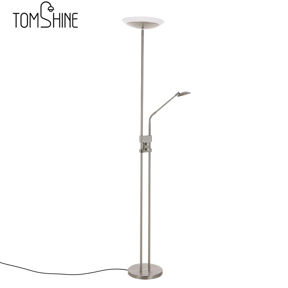 Tomshine Floor Lamp Lights Room Light Stand Eye Protective LED Floor Lamp  15W Modern Stand Light For Living Room Bedside Reading