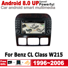 2 Din Car Multimedia Player For Mercedes Benz CL Class W215 1996~2006 NTG Android Radio GPS Navigation Autoaudio DVD Player eels eels useless trinkets b sides soundtracks rarities and unreleased 1996 2006 2 cd dvd