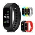 Lemse L30t Bluetooth Inteligente Monitor de Freqüência Cardíaca Banda Full color TFT-LCD smartband para ios sistema operacional android pk xiaomi mi banda tela 2