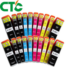 20 PCS T2621 26XL Ink Cartridge Compatible for INK Expression Premium XP-600 XP-605 XP-700 XP-800 XP-610 XP-615 XP-710 XP-810 12storeez костюм свитер и брюки на завязках серый fw18