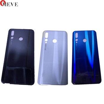 10pcs/lot Original Housing For Huawei Nova 4 Glass Battery cover Door Smart Phone Back Cover Replacement Repair Part