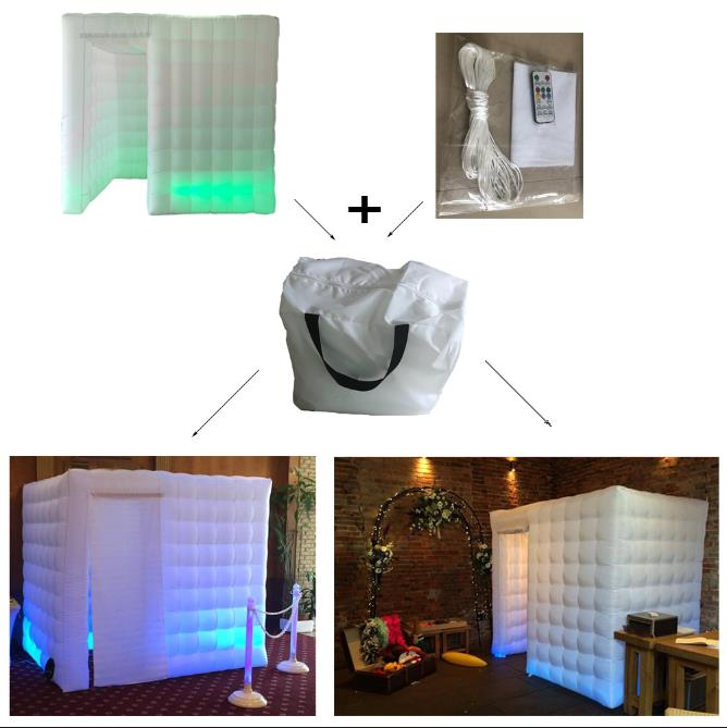 Aliexpress.com : Buy wedding party used inflatable cube