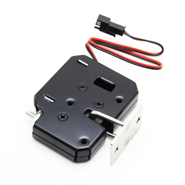 Dc 12v 2a Small Solenoid Electromagnetic Electric Control