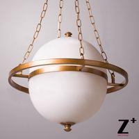 Saturno Halo Pianeta Lampada a Sospensione Telaio In Ferro Nuova Luce Art Deco Salotto Ristorante