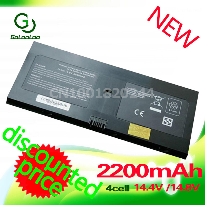 Golooloo 2200 mah batterie für hp probook 5310 m 5320 m 538693-271...
