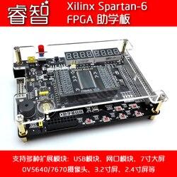 Placa de desarrollo estudiantil Xilinx Spartan-6 FPGA, envío de módulo de cámara