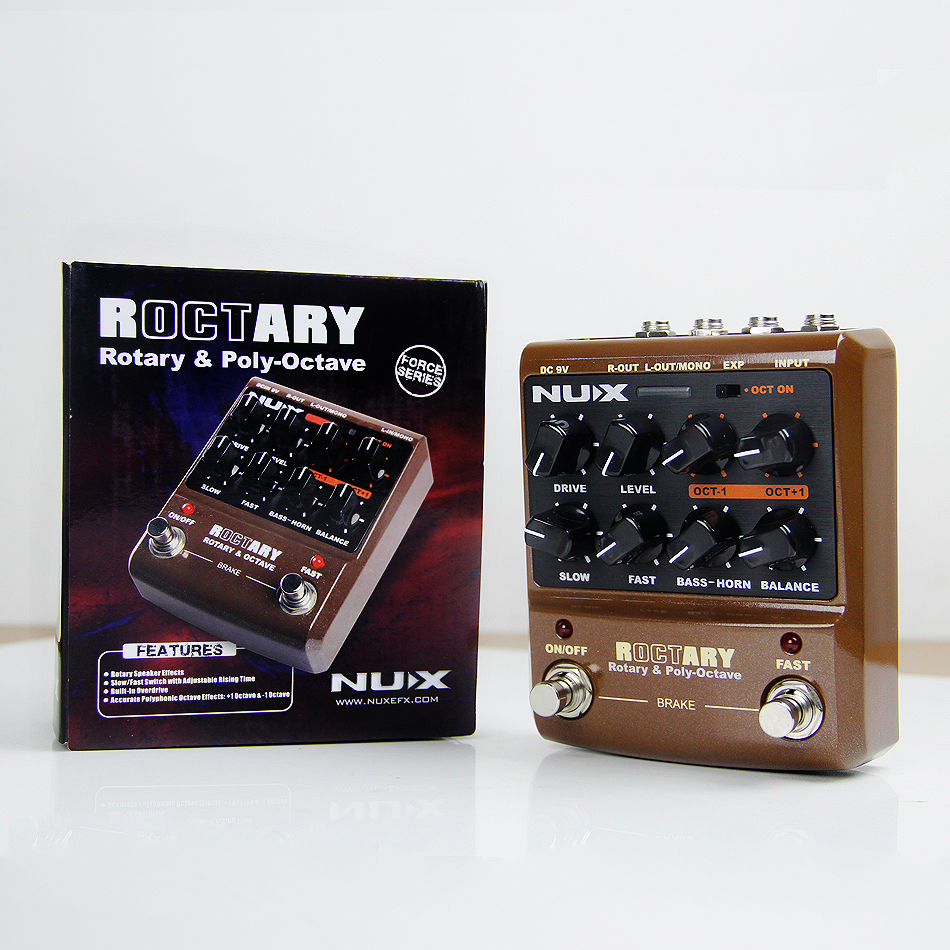 Gitaar Onderdelen en accessoires NUX Rotary Speaker-effecten - Muziekinstrumenten - Foto 6