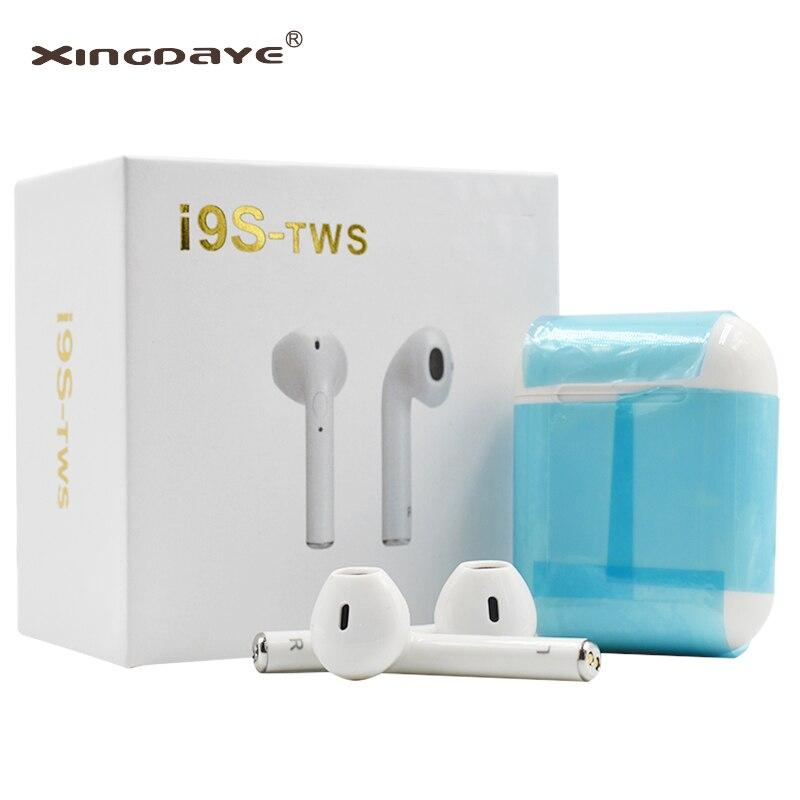 I9s tws Twins Ohrhörer Mini Wireless Bluetooth Kopfhörer i7s Air Pod Headsets Stereo Ohrhörer Wireless Für Xiaomi IPhone Android