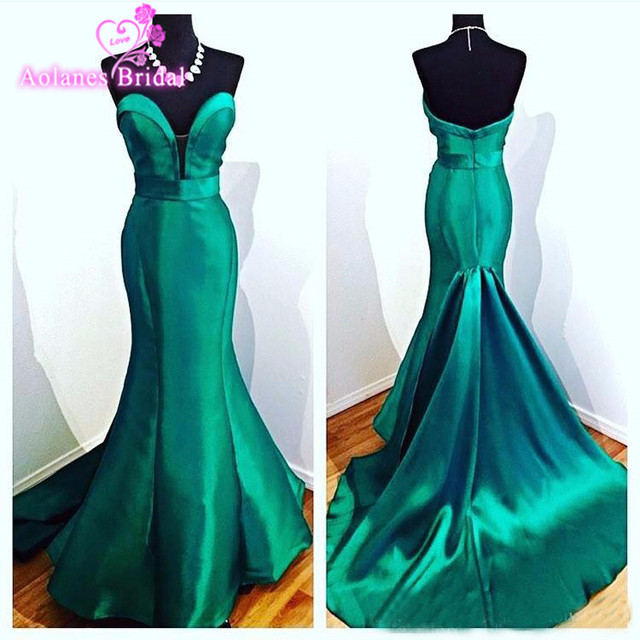Turquoise Green Evening Dresses