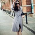 Осень Новые Моды для Женщин Настроить Сделал Плюс Размер 3XS-10XL Случайный Средней Длины Искусственной Замши Slim Fit Пиджаки Женские Пальто