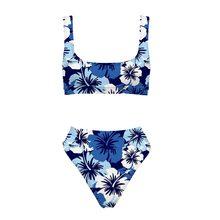 afd68150e7e2 THIKIN Sport Costume Da Bagno Delle Donne Sexy Hawaii Design Bikini Set  Push Up Costumi Da Bagno Per La Spiaggia Delle Signore F..