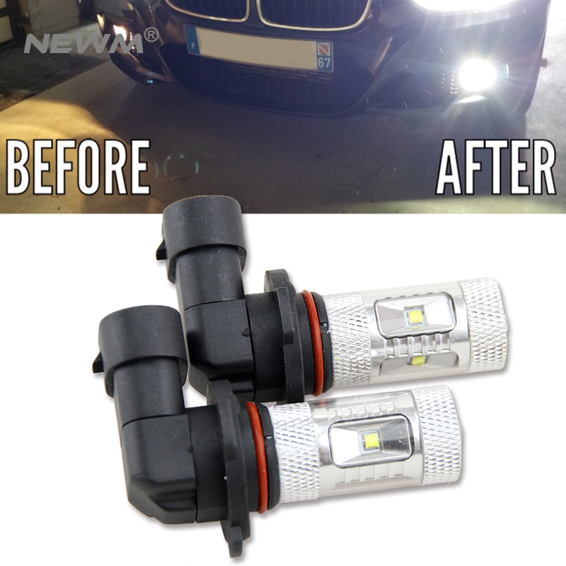 2x Car Led 9006 HB4 9005 HB3 Light Bulb Auto Fog Light Driving Lamp Light For BMW E63 E64 E46 330ci Car Accessories