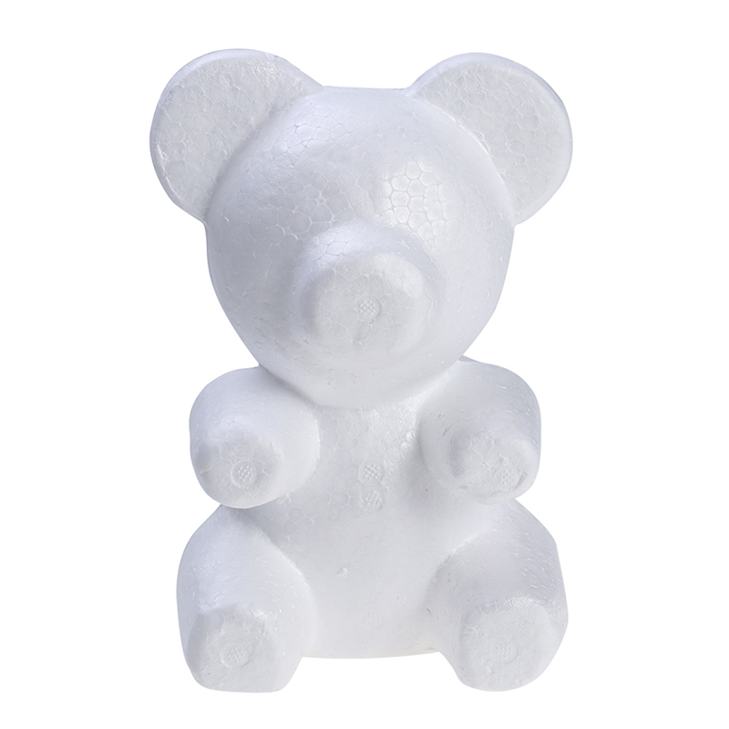 1 шт. 200 мм моделирование пенополистирол пенопласт пена медведь белые авторские шары для DIY украшения рождественской вечеринки Подарки-in Декоративные шары from Дом и сад on Aliexpress.com | Alibaba Group