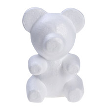 1pcs 200mm Modelling Polystyrene Styrofoam Foam bear White Craft Balls For DIY Christmas Party Decoration Supplies Gifts(China)