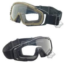 Óculos de Airsoft Paintball FMA Versão Atualizada Versão Fã SI-Ballistic-Goggle  TB885 TB886 e15598c781