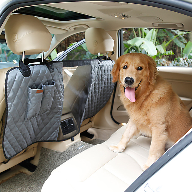 900D Nylon Waterproof Dog Car Seat Barrier Safety Car Fence for ...