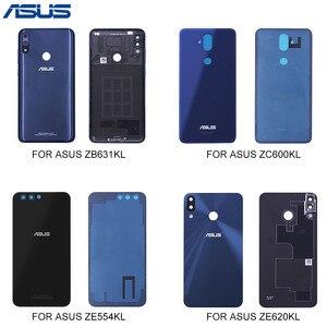 Image 1 - ASUS סוללה שיכון כיסוי עבור Asus Zenfone ZB631KL ZC600KL ZE554KL ZE620KL חזור שיכון דלת כיסוי עבור ASUS דיור בחזרה מקרה