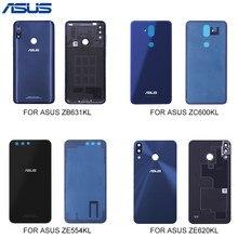 ASUS BatteryสำหรับAsus Zenfone ZB631KL ZC600KL ZE554KL ZE620KLฝาหลังประตูสำหรับASUSกรณีที่อยู่อาศัย