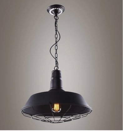 Free shipping loft American country creative industries nordic personality retro iron chandelier for single room недорого