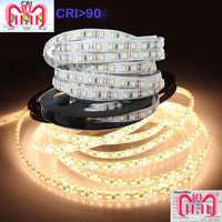3Years Guarantee High CRI+90 2835 12V 24V 2835 LED Light Strips For Home 8mm Width 120LED/m 0.2W/LED 45W/5m/lot No-Waterproof