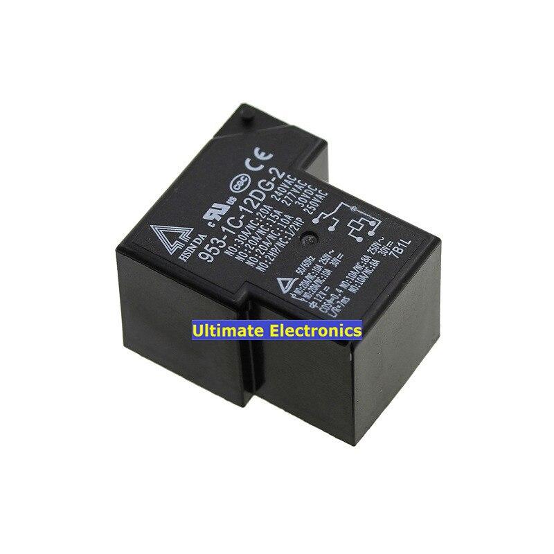 5pcs 953-1c-12dg-2 Dc12v 20a Open And Close T90 Original High Power Relay