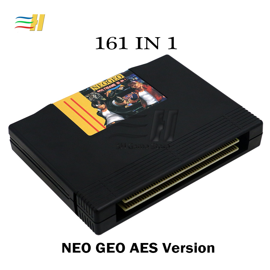 Neo Geo AES 161 dans 1 Combats Jamma Multi Arcade Jeu Cartouche AES Standard Jamma multi panier jeu 161 jeux arcade cartouches