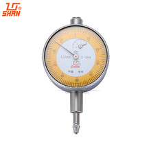 On sale SHAN Dial Indicator 0-3mm/0.01mm Small Dial Test Gague Aluminum Body Micrometer Caliper Precision Tools