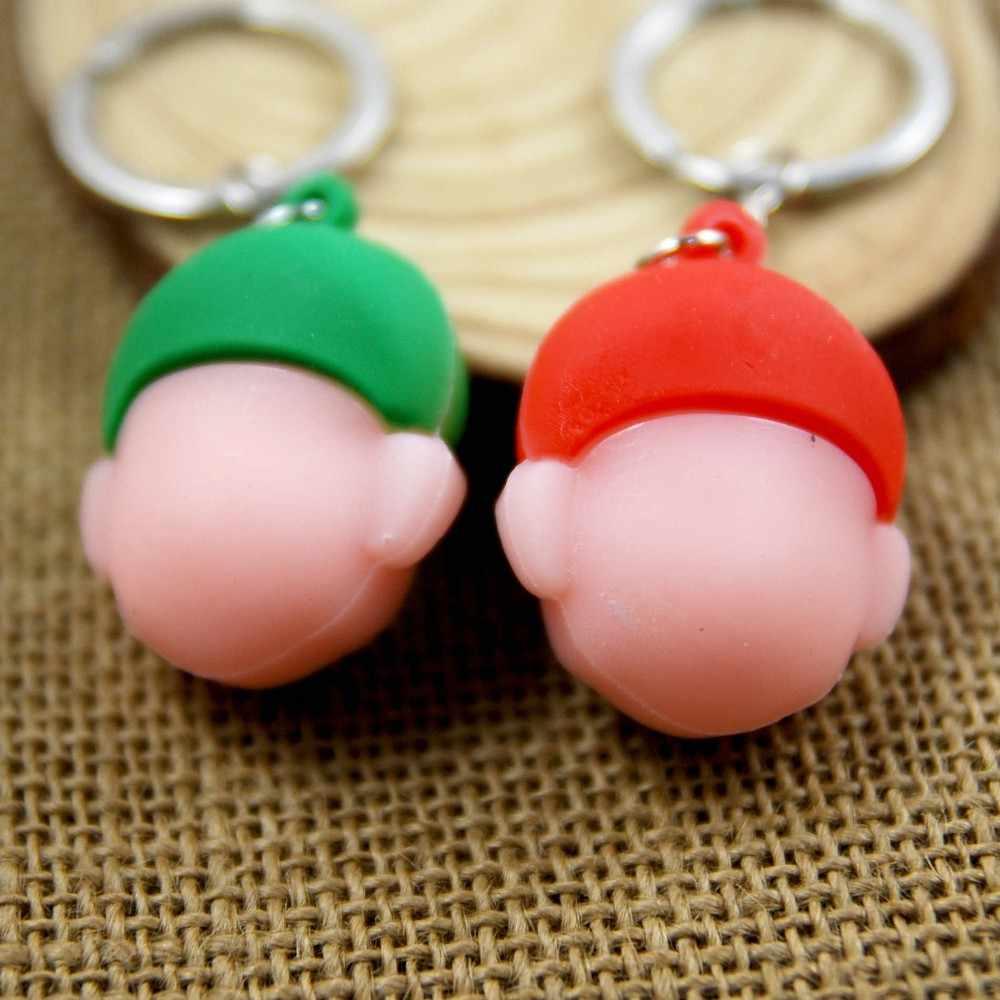 Super mario bros chaveiro bonito chaveiro para as mulheres 3d pvc mario chaveiro porta-chaves portachiavi chaveiro llaveros saco charme