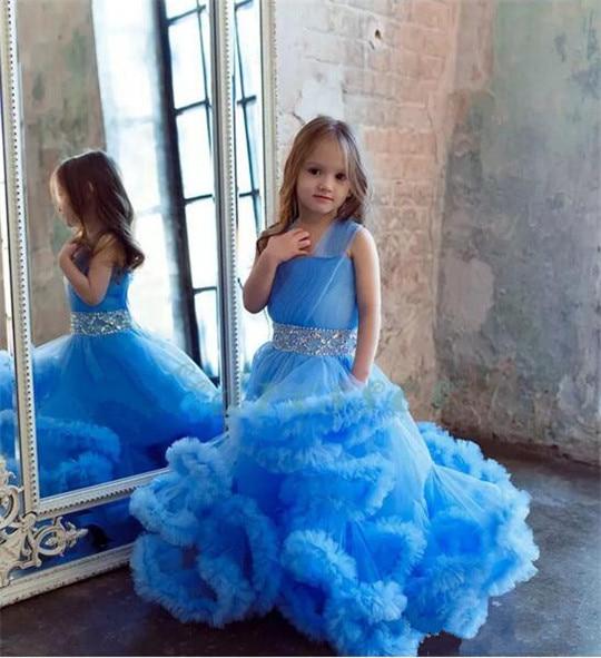 Фактические фотографии Новинка 2017 года Платье в цветочек для девочек для свадьбы платья Обувь для девочек Праздничное платье с поясом Платье для первого причастия