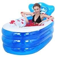 Shampooer Inflable Baignoire Pliable Portable Bucket Pedicure Spa Bath Tub Adult Sauna Inflatable Bathtub