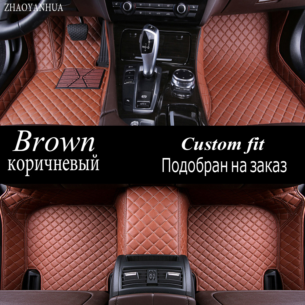 ZHAOYANHUA Car floor mats for Infiniti JX JX35 Q60 5D car-styling water proof high quality accessories carpet liners (2012-now) special car trunk mats for toyota all models corolla camry rav4 auris prius yalis avensis 2014 accessories car styling auto