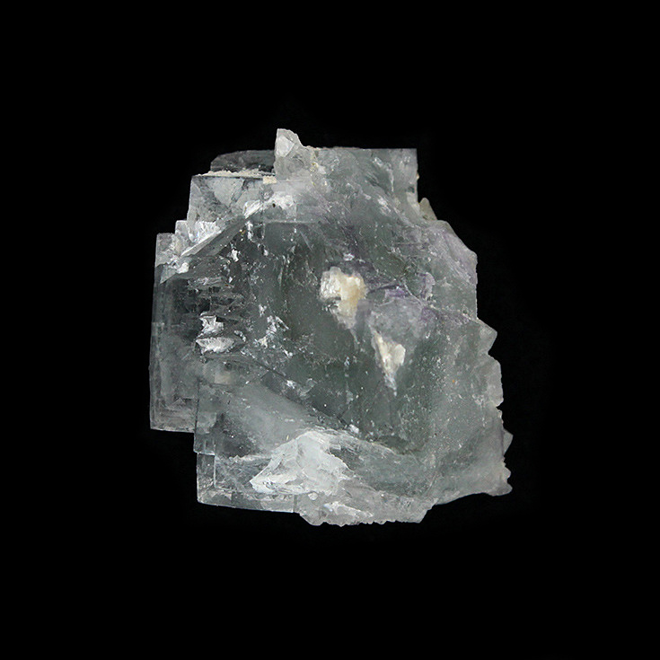 Yaogangxian fluorite crystal specimens teaching specimens produce small ornaments Mineral Collection Features Gift ygx07