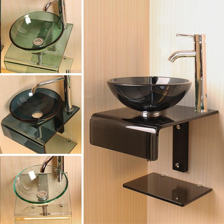 exquisito cristal pardew cuenca balcn lavabo pequeo lavabo de cristal templado cuenca en lavabos de mejoras para el hogar en alibaba