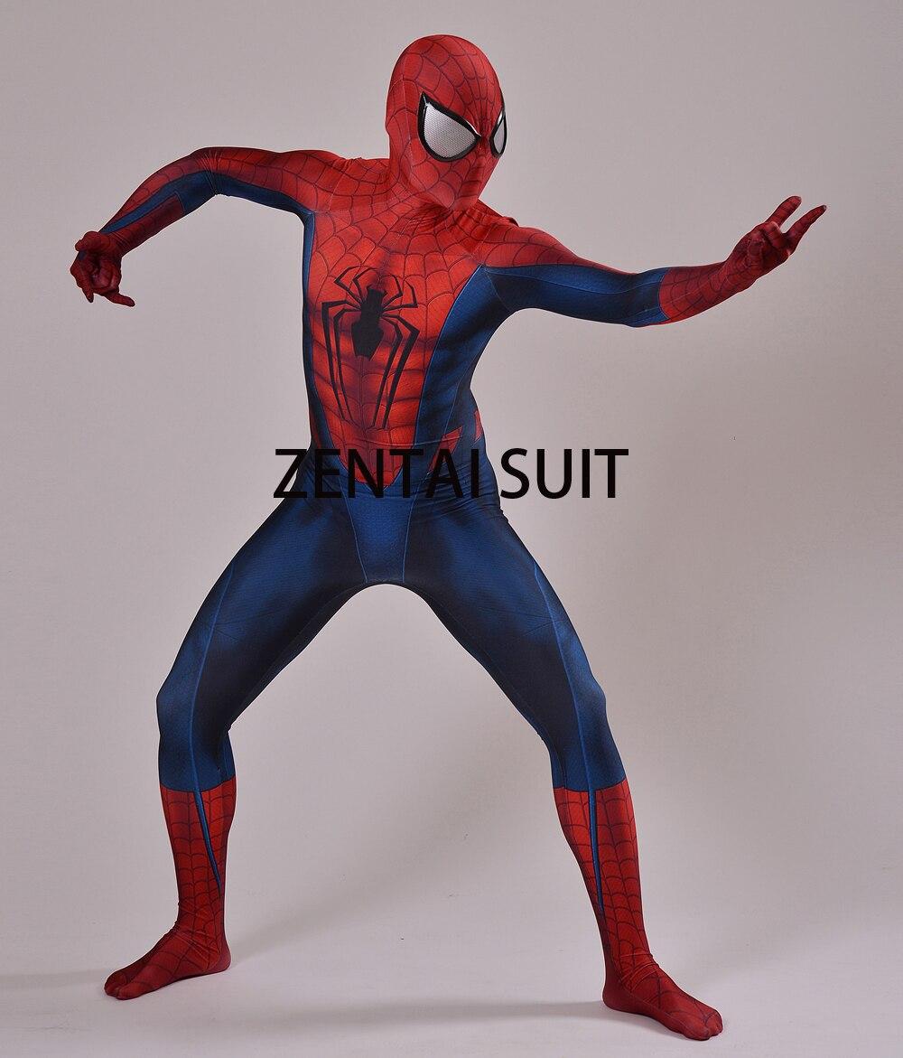 Traje de Spiderman Impresión 3D Cosplay Zentai Traje Spandex Comic - Disfraces - foto 4