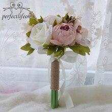 Romantic Wedding Orange Bridesmaids Bridesmaids Small Bouquet Holding The  Wedding Decoration(China)