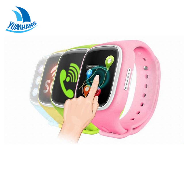 Big Touch Screen Smart Safe GPS LBS WIFI Tracker Location Finder SOS Call Remote Monitor Anti-Lost Watch Wristwatch for Kid baby