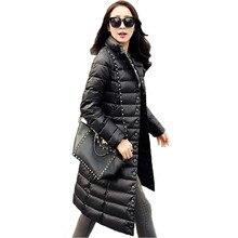 New Winter Women Jackets 90% White Duck Down Parkas Ultra light Down Coat Casual Warm snow overcoat