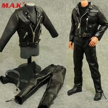 12'' set clothes leather