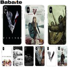 Babaite vikings serie 4 mode Adorable dessin coloré couverture de téléphone pour Apple iPhone 8 7 6 6 S Plus X XS max 5 5 S SE XR(China)