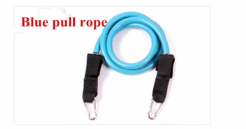 90 Pounds Three Color Fitness Elastic resistance Bands Yoga Equipment Latex Training Pull Rope For Wholesale