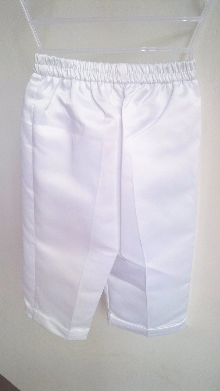 BBWOWLIN 4 Pcs White V-Neck Baby Boy Clothes for Baptism Christening Gowns Newborn - 2T 80685C