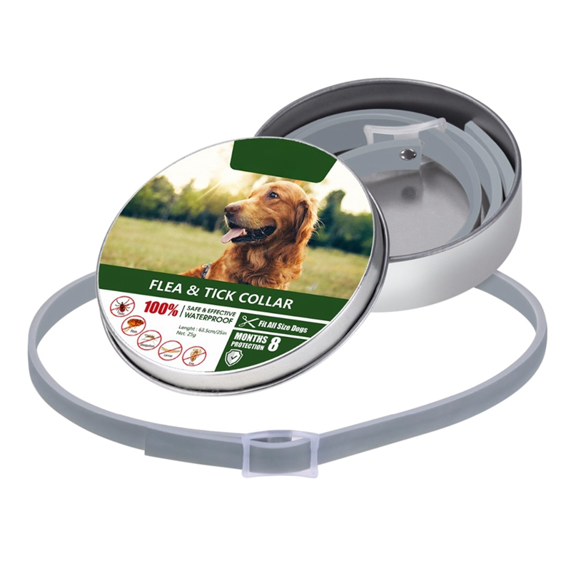 2019 Pet Dog Collar Anti Flea Ticks Mosquitoes Repellent Collar For Pet Dogs Cats Control Mosquito Treatment Prevention