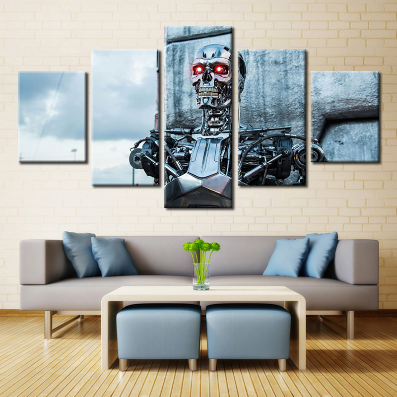 font b Science b font Fiction Film Beauty Beast Movie Poster Print on Oil Painting