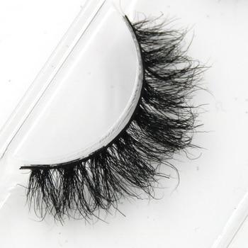 YOKPN Mink False Eyelashes Messy Cross Soft Cotton Stalk Natural Short Fake Eyelashes Smoke Banquet Makeup Mink Eye Lashes