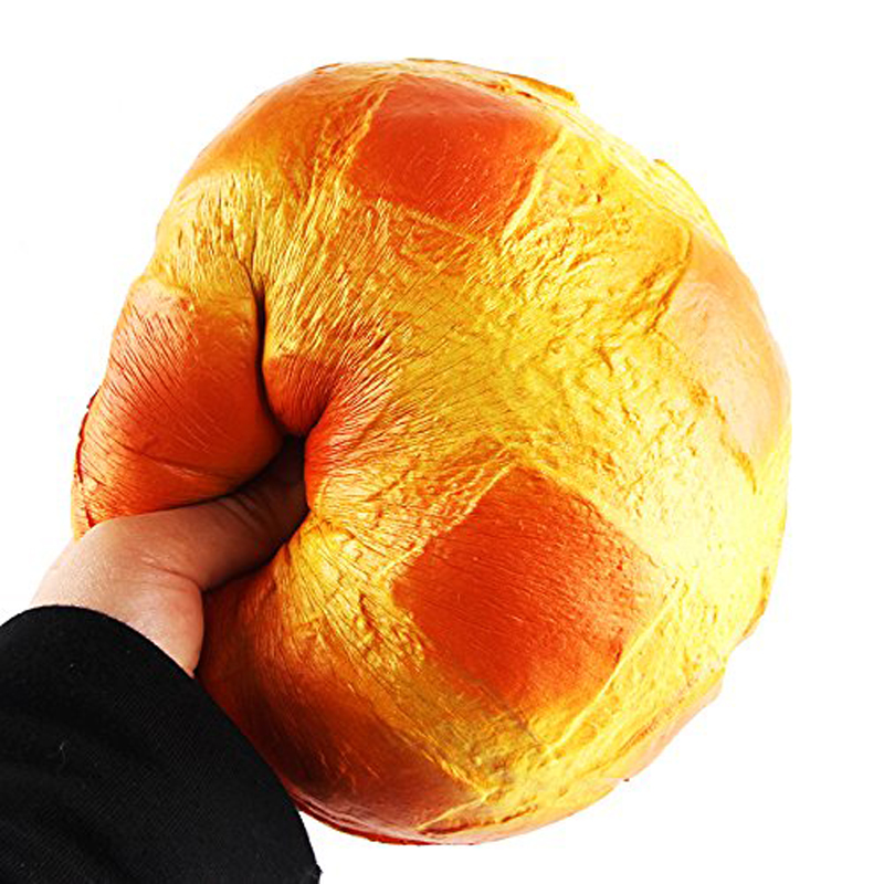 Squish Anti-stress Jumbo Bread Squishy Toys Soft Big Slow Rising Food  Anti Stress Reliever Toy For Kids Adult Relieve Pressure