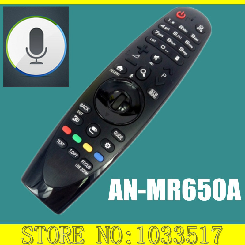 New Original For LG AN-MR650A Magic Remote Control With Voice Smart TVs new an mr600g anmr600 magic remote control for lg 3d smart tv