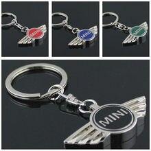 056b7410ae Car Pendant Alloy Car Keyring Keychain Key Chain Auto Ring For Mini Cooper  Countryman Cabrio Jcw Clubman r50 r53 r56 CNYOWO